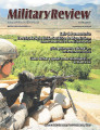 Military Review, Hispanoamericana, enero-febrero, 2014.