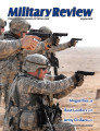 Military Review, May-June 2015.