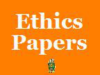 Army ethics paper.