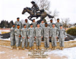 First Sergeant Course, Class- 03-10, Ft. Carson, Colorado.