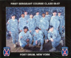 First Sergeant Course, Class- 09-07, Fort Drum, New York.
