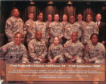 First Sergeant Course, Class- 7-28, Fort Hood, Texas.