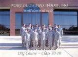 First Sergeant Course, Class- 20-10, Fort Leonard Wood, MO.