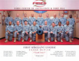 First Sergeant Course, Class-D19-10, Fires Center of Excellence & Fort Sill.