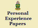 Soldiers experience:  a Soldier's journal of reflection and experiences, 1996-present.