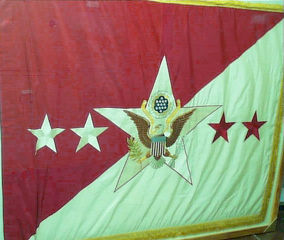 Pattern 1929 Chief of Staff Identification Flag.
