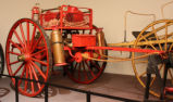 Soda Acid Fire Fighting Cart.