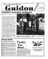 Fort Leonard Wood Guidon. September 19, 1985.