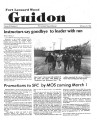 Fort Leonard Wood Guidon. February 13, 1986.