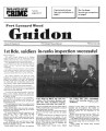 Fort Leonard Wood Guidon. February 20, 1986.