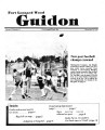 Fort Leonard Wood Guidon. November 29, 1984.