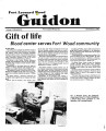 Fort Leonard Wood Guidon. November 21, 1984.