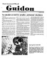Fort Leonard Wood Guidon. October 18, 1984.