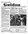 Fort Leonard Wood Guidon. September 27, 1984.