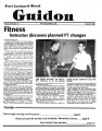 Fort Leonard Wood Guidon. August 23, 1984.