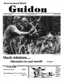 Fort Leonard Wood Guidon. August 16, 1984.