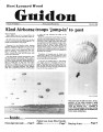 Fort Leonard Wood Guidon. July 26, 1984.
