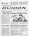 Fort Leonard Wood Guidon. August 28, 1980.
