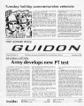 Fort Leonard Wood Guidon. November 06, 1980.