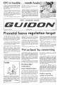 Fort Leonard Wood Guidon. October 18, 1979.