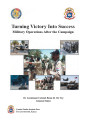 Turning victory into success: military operations after the campaign.