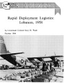 Rapid deployment logistics:  Lebanon, 1958.