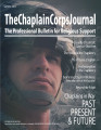 The Chaplain Corps Journal: The Professional Bulletin for Religious Support, Summer 2015.