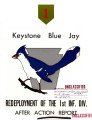 Keystone Bluejay  : redeployment of the 1st Inf. Div. after action report.