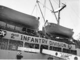 2nd Infantry Division prepare to disembark USNS