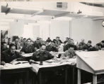 Command and General Staff College (CGSC) students in a classroom.