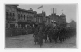 27th Infantry, soldiers marching, Khabarovsk, Siberia.