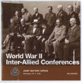Casablanca conference, January 1943: papers and minutes of meetings.